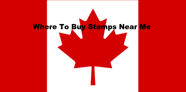 Where to buy stamps near me in Canada